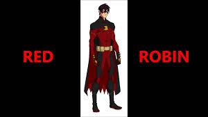 Red Robin Halloween Costume Red Robin Yum