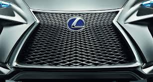 lexus lf nx lexus lf nx concept front spindle grille design detail concept