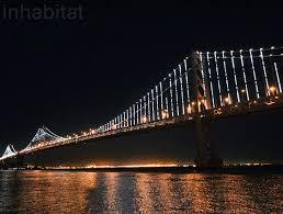 Bay Bridge Lights The Bay Lights Unveiled World U0027s Largest Light Sculpture