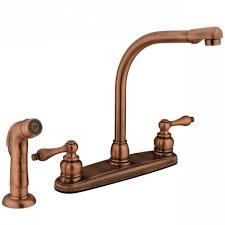 antique copper kitchen faucet high arch antique copper kitchen faucet with sprayer free copper