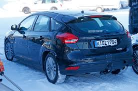 spied next gen ford focus mule caught winter testing