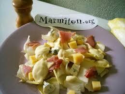 cuisine marmiton recettes salade d endives des gourmands opskrift