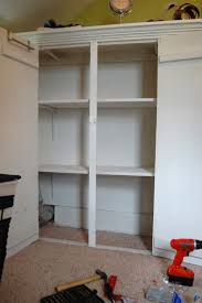 Build Closet Shelves by Build Diy Project Aholic