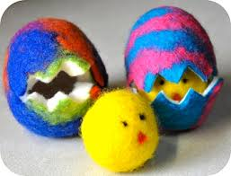 felted easter eggs felted easter eggs and things to make and do crafts and