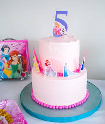 make birthday cake make an easy disney princess birthday cake using stickers yes