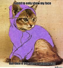 Hipster Kitty Meme - hipster cat by shotzinho meme center