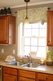 Kitchen Pantry Curtains Easy No Sew Valance A Very Long Window Valance Would Need To Be