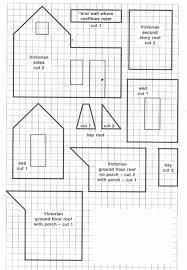gingerbread house blueprint u2013 victorian house u2013 celebrating christmas