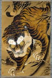 tigers in japanese at the louis museum