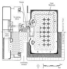 frank lloyd wright johnson wax headquarters plan 1936