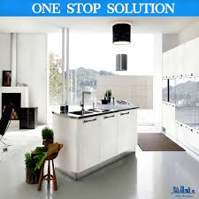 Polymer Kitchen Cabinets High Gloss Lacquer Finish Kitchen Cabinets Kitchen Cabinet Ideas