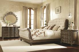 King Size Leather Sleigh Bed Tufted Leather Sleigh Bed King Size Vine Dine King Bed