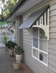 Do It Yourself Awning Bricks U0026 Honey Building The Back Door Overhang Window Awnings
