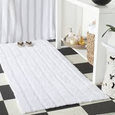 White Bathroom Rug White Shag Bathroom Rug Blue Stripe Bath Mat Cheap Bathroom Rugs