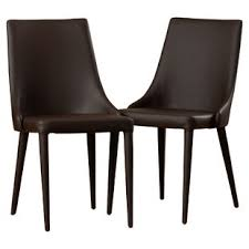 Leather Parson Dining Chairs Modern Parsons Dining Chairs Allmodern