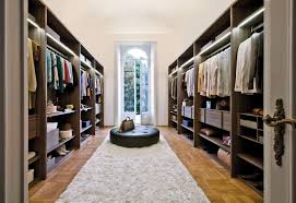 White Soft Rug Furniture Walk In Closet Ideas Enjoying Private Collection