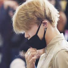 bts earrings jimin cross style earrings