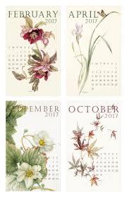 botanical calendars 2019 calendar susan lanzano