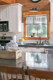 Kitchen Curtains by Farmhouse Kitchen Curtains Creative Cain Cabin