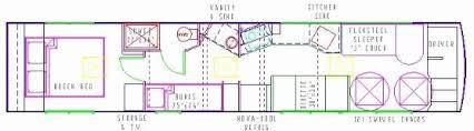 school bus floor plan school bus conversion floor plans unique awesome skoolie floor plan