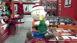 Home Depot Inflatable Christmas Decorations It U0027s A Charlie Brown Christmas At Home Depot Youtube