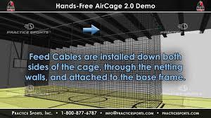 retractable batting cage kit indoor