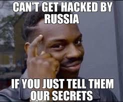 Spy Meme - a russian spy a sexual predator and a billionaire walk into a