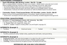 hobby resume examples sample cv with hobbies and interest