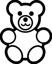 basic preschool bear coloring page wecoloringpage