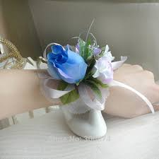 wrist corsage prices prom wrist flower corsage wedding flowers for artificial silk
