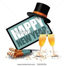 new years party blowers happy new year icon party blowers stock vector 228397204