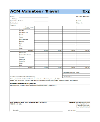 Excel Expense Report Template Free 30 Free Expense Report Templates Free Premium Templates