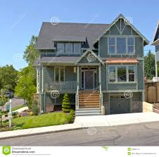 new house for sale portland oregon stock photo image 53856114
