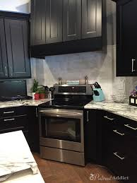 Black Cabinets Kitchen Our New Kitchen Reveal Pinterest Addict