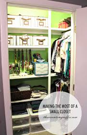 make the most out of a small closet bedroom ideas closet