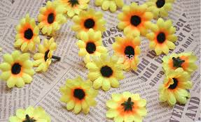 Fake Sunflowers Sunflower Travel Picture More Detailed Picture About 100pcs Diy