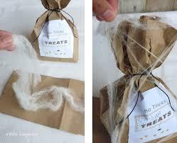 halloween treat bags and printables white gunpowder