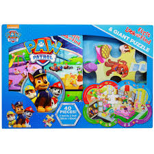 paw patrol first look and find book and puzzle set bms wholesale