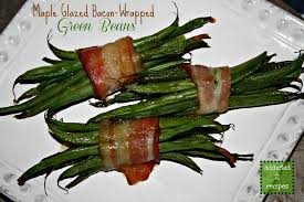 green bean thanksgiving recipes maple glazed bacon wrapped green beans addicted to recipes