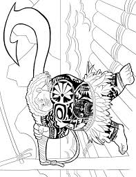kids fun 20 coloring pages moana