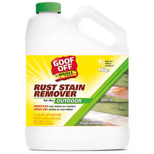 How To Remove Spray Paint From Concrete Patio Goof Off 128 Oz Rust And Stain Remover Gsx00101 The Home Depot