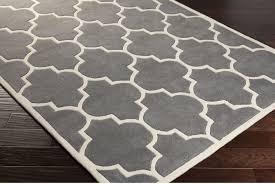 gray white area rug square black white zigzag pattern minimalist