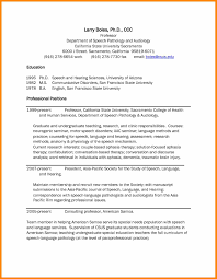 Successful Resume Examples by 100 Slp Resume Examples Best Speech Language Pathologist