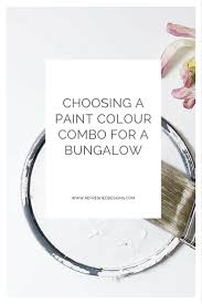 choosing a bungalow exterior paint combo u2014refreshed designs