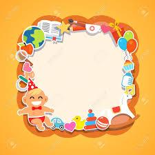 Baby Shower Picture Frames Cartoon Kids Frame Baby Shower Children Party Birthday Or