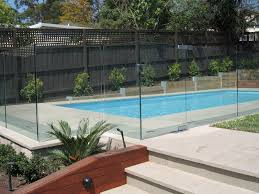 Backyard Pool Safety by Exterior Inground Pool Fence Simple And Inexpensive Design Pool