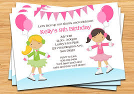 birthday party invitations skating party invites skating birthday party invitation