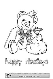 holiday coloring pages printable free happy holidays coloring pages coloring home
