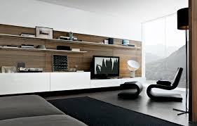 Modern Wall Mounted Entertainment Center Décoration Style