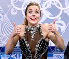 Ashley Wagner Meme - ashley wagner makes another face at sochi olympics picture